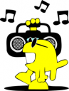 Stereo clip art