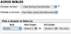 bible gateway NASB audiobook