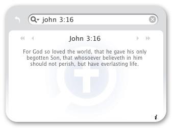 Free Logos bible verse mac widget