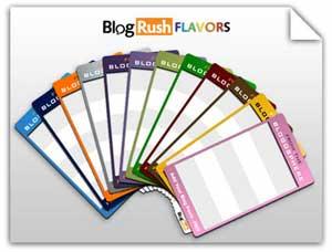 BlogRush flavours