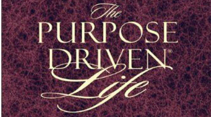 the purpose driven life free Christian devotion