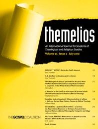 themelios Christian Journal