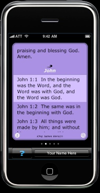 Wave bible iPhone